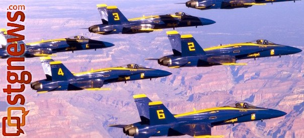 US Navy Blue Angels Flight Demonstration Squadron | Photo Courtesy of Herb Gillen Agency, St. George News