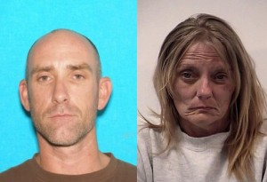 Daniel Welsey Runyon and Tina Cornall, both of Utah, date and location of unknown | Photos courtesy of the Mesquite Police Department