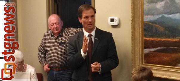 Rep. Chris Stewart stopped by St. George during a statewide town hall tour and took questions from constituents, St. George, Utah, March 28, 2013 | Photo by Mori Kessler, St. George Utah