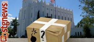 Package show is a fictitious depiction | Image by St. George News graphics