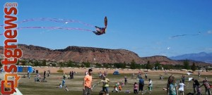 Dixie Power Kite Festival at SunRiver Golf Course, St. George, Utah, April 20, 2013 | Photo by Sarafina Amodt, St. George news