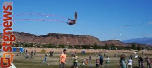 Dixie Power Kite Festival at SunRiver Golf Course, St. George, Utah, April 20, 2013 | Photo by Sarafina Amodt, St. George news