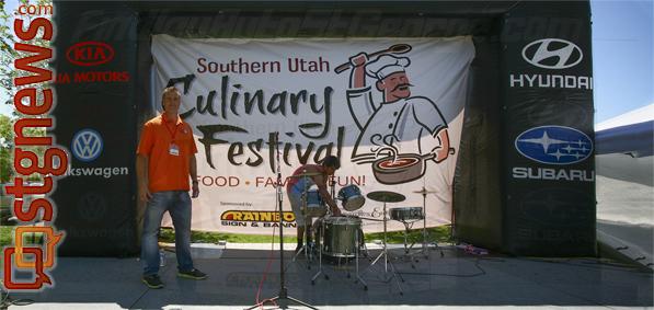 Adam Stuart Southern utah Culinary Festival St. George, Utah, April 26, 2013   Photo by A.J. Mellor St. George News