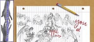 Drawing by Ariel Meitz,  April 30, 2010