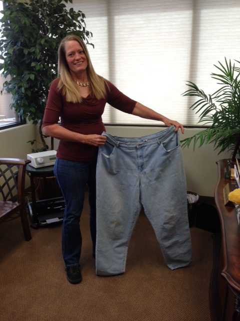 Healthy Lifestyles client who lost 100 pounds | Photo courtesy of St. George Health and Wellness