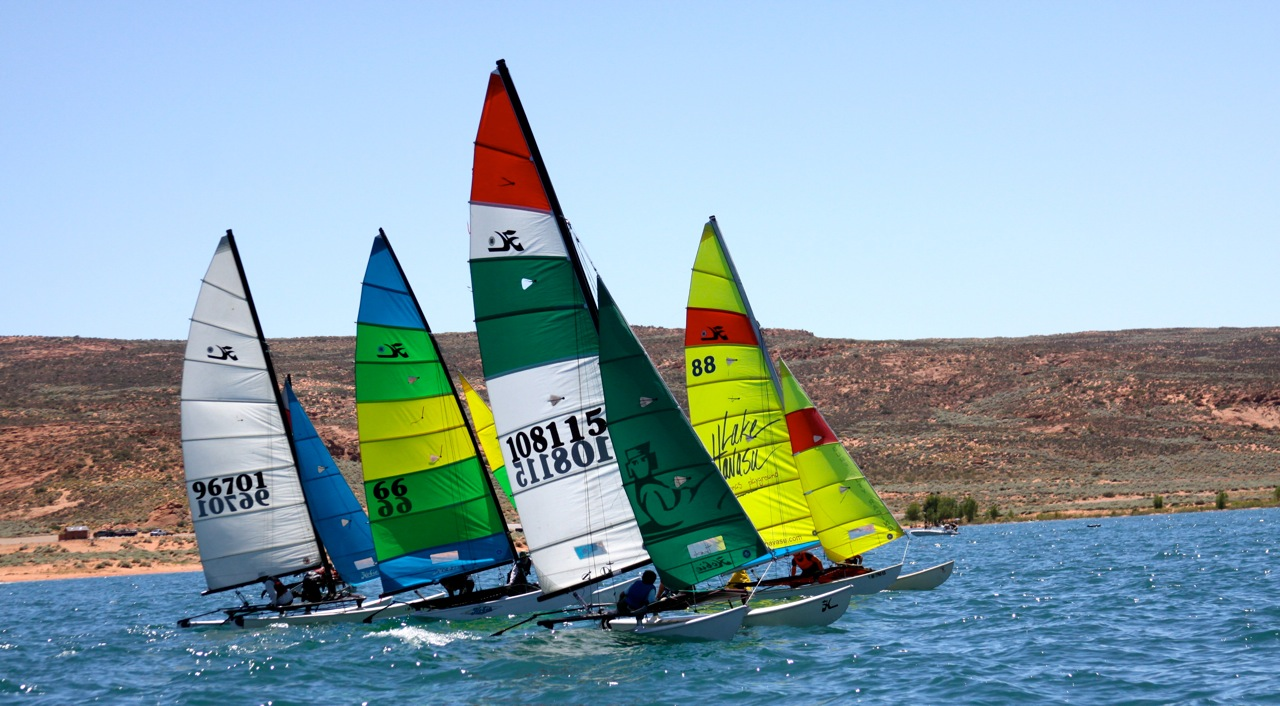Raul and Rocco Hevía, Sand Hollow Sailing Club: Developing ...