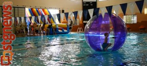 Pool area of the Washington City Community Center, Washington City, Utah, April 29, 2013 | Photo by Sarafina Amodt, St. George News