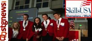 Skills USA DXATC Chapter members, Salt Lake City, Utah, March 28, 2013 | Photo courtesy of Lisa Burgess