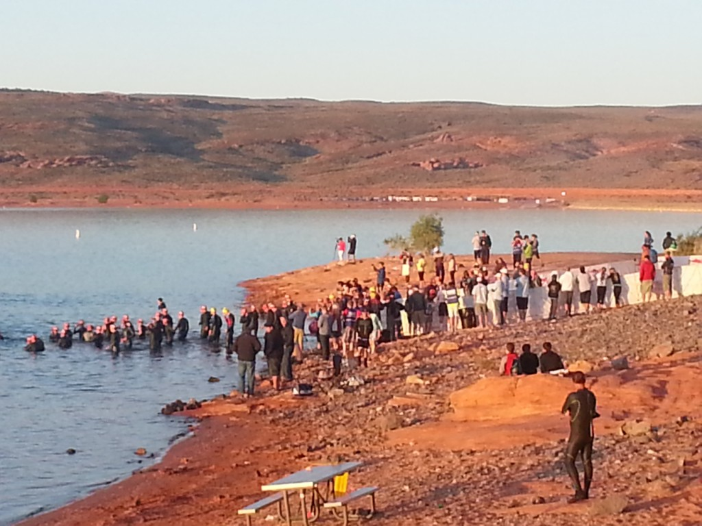 St george ironman 70 3 stgnews photo gallery st george news for Sand hollow swimming pool st george
