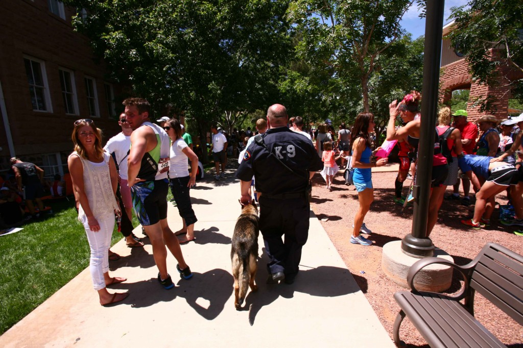 Intermountain Healthcare bomb apprehension K-9s Ironman STGnews.com