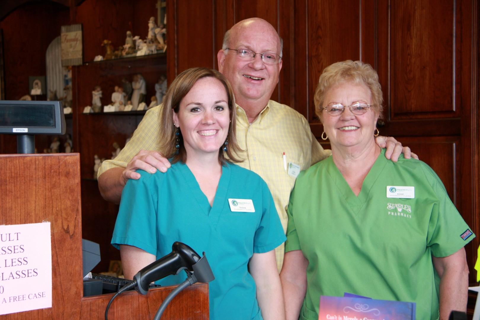 Stapley Family Pharmacy staff