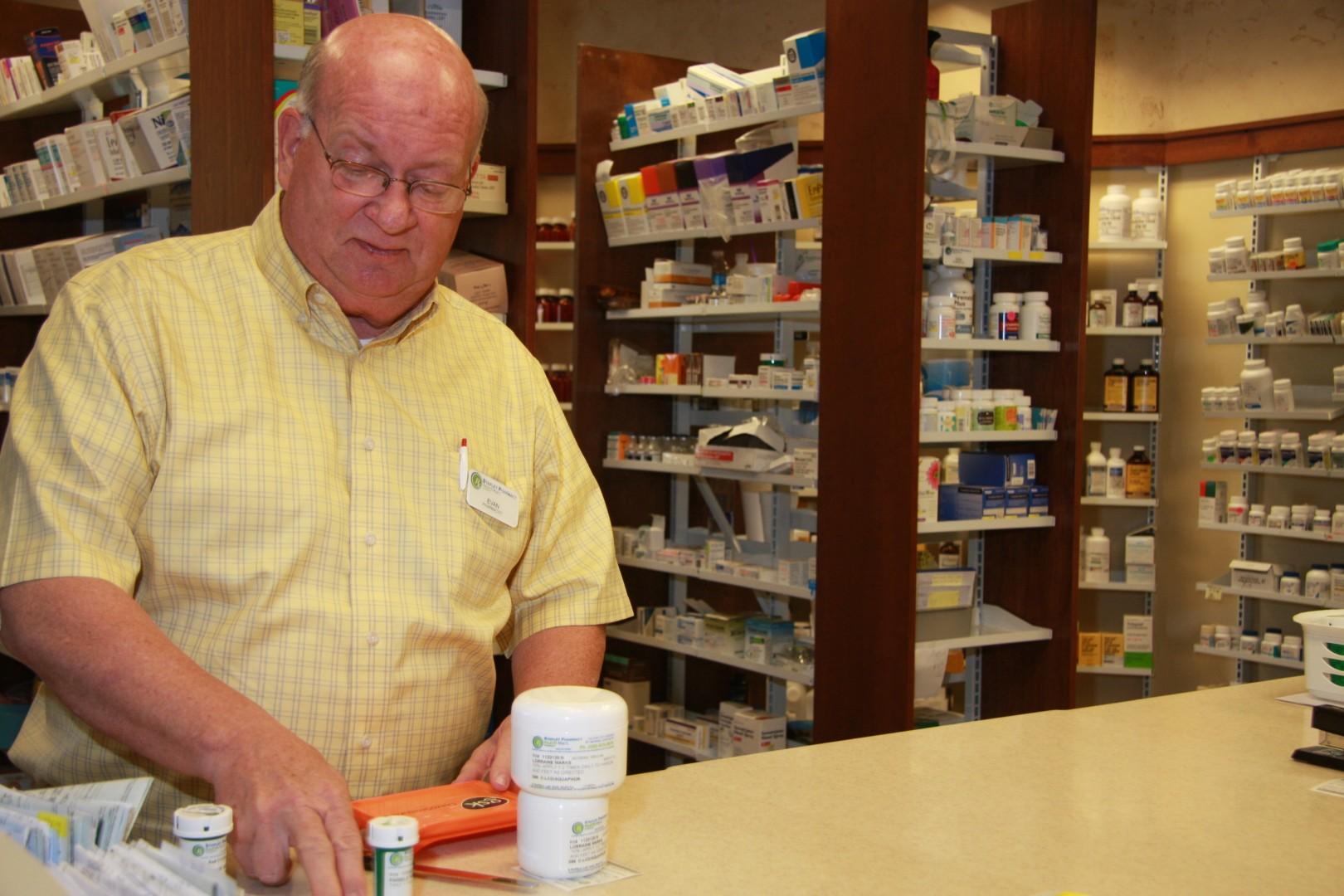 Evan Stapley, owner,  Stapley Family Pharmacy, St. George, Utah, May 2013 | Photo by Melynda Thorpe Burt, St. George News