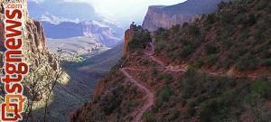Bright Angel Trail, Grand Canyon National Park, Arizona, undated | Photo courtesy of Grand Canyon National Park