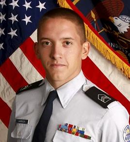 Christian Harrison   Photo courtesy of Sgt. Gerald Thomas