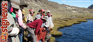 Heart Walk Foundation volunteers with Q'ero villages, Andes Mountains, Peru, Sept. 6, 2012 | Photo by Melynda Thorpe Burt, St. George News