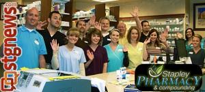 Stapley Family Pharmacy staff, St. George, Utah, May 2013 | Photo by Melynda Thorpe Burt, St. George News