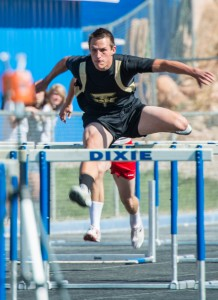 DH speedster Brad Wulfenstein had a great day at state track | File photo by Dave Amodt, St. George News