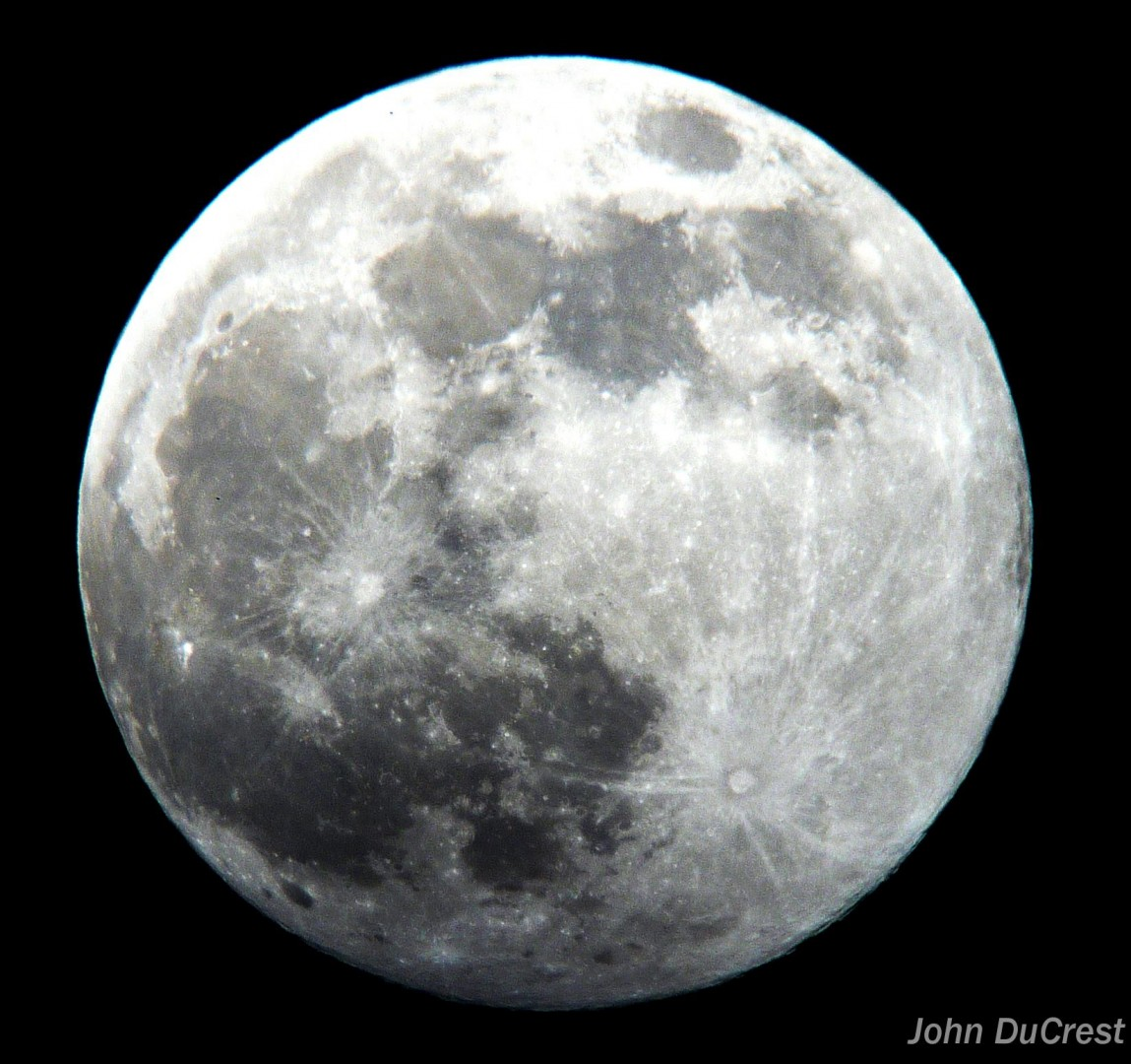 Supermoon, shot from St. George, Utah, June 22, 2013 | Photo by John DuCrest, St. George News