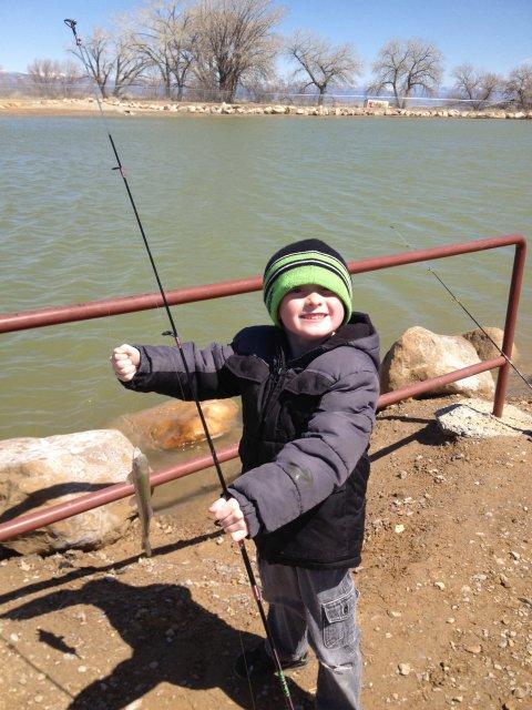Fishing in Utah | Photo courtesy of Utah Division of Wildlife Resources