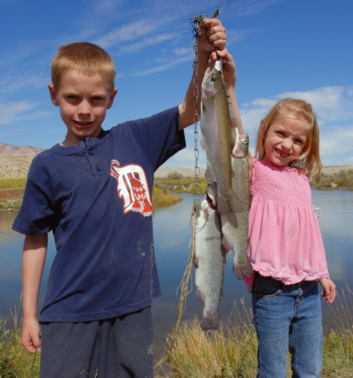Fishing in Utah | Photo courtesy of Utah Division of Wildlife Resources