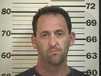 Daniel Sandberg Taylor, booking photo, Iron County Sheriff's Department, May 31, 2013