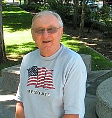 John Thomas McFarlin on the grounds of the Nevada State Capitol, Summer 2009