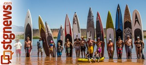 Paddleboarding and sailing event at Sand Hollow Reservoir, Hurricane, Utah, June 2, 2012 | Photo by Chris Caldwell, St. George News