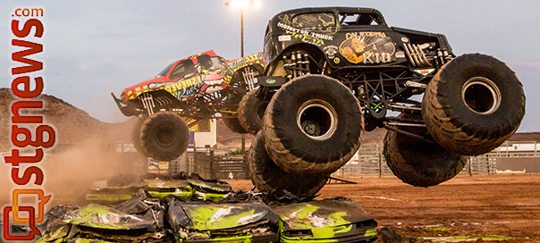 Monster X Tour Tears It Up At Washington County Fairgrounds Stgnews Videocast Photo Gallery St George News