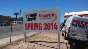Boulevard Home Furnishings coming soon -  new store and Boulevard Plaza at 990 South Main Street, Cedar City, Utah, June 26, 2013 | Photo by Mori Kessler, St. George News
