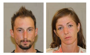 Anthony Angelo Pierucci and Kelli Bo Slade | Photo courtesy of the Washington County Sheriff's Office