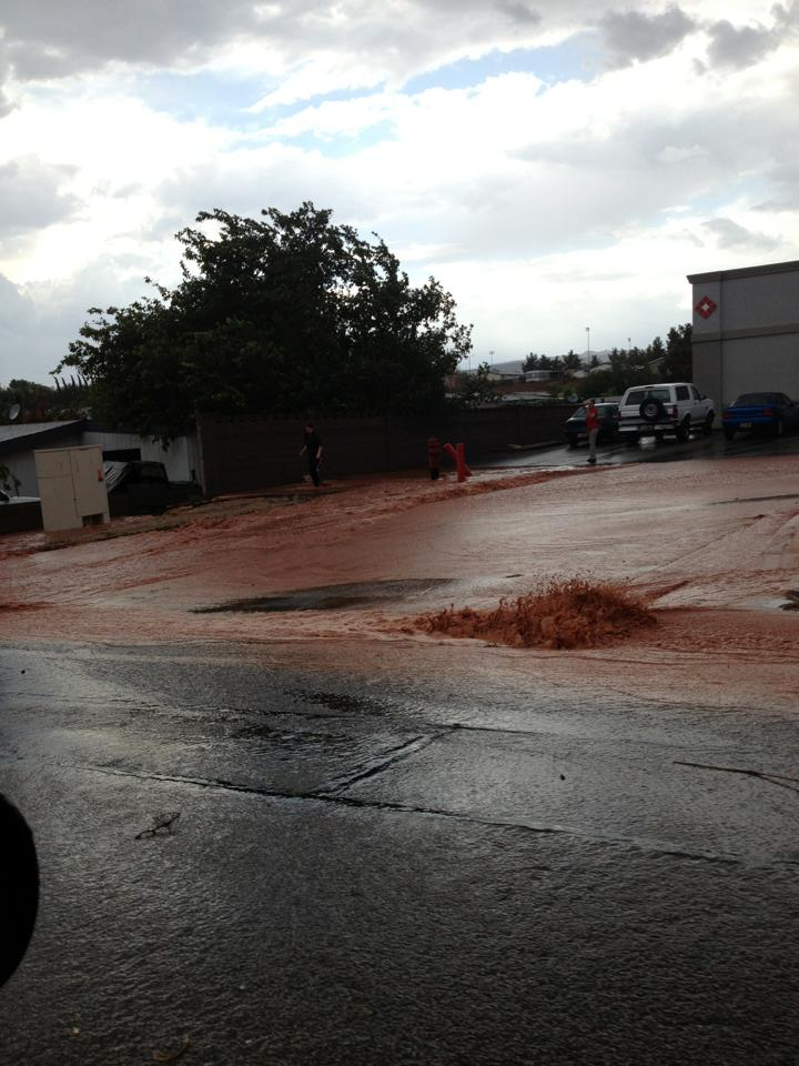Family Dollar parking lot, St. George, Utah, July 26, 2013 | Photo by Joshua Bruton, St. George News