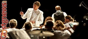 Conductor Gary Caldwell leads the Southwest Symphony in concert, St. George, Utah, March 2013 | Photo courtesy of the Southwest Symphony