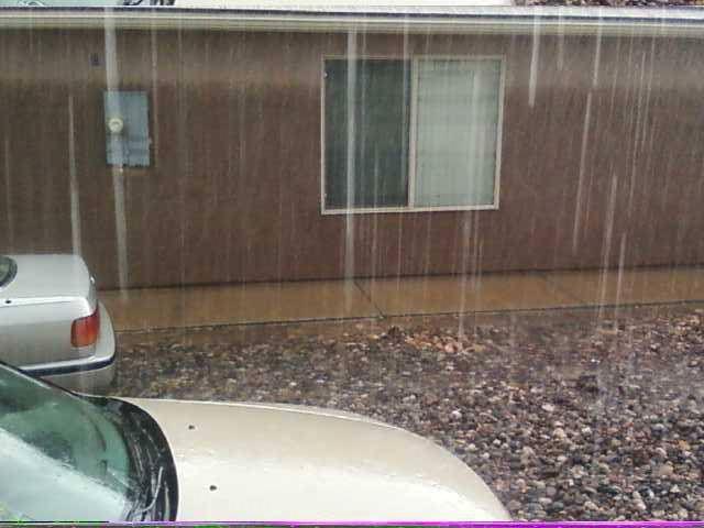 View from a yard in Quail Lake Estates, Hurricane, Utah, July 26, 2013   Photo by Sarah Cloud, St. George News