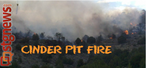 Cinder Pit Fire