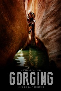 "Promotional poster for ""Gorging"" 