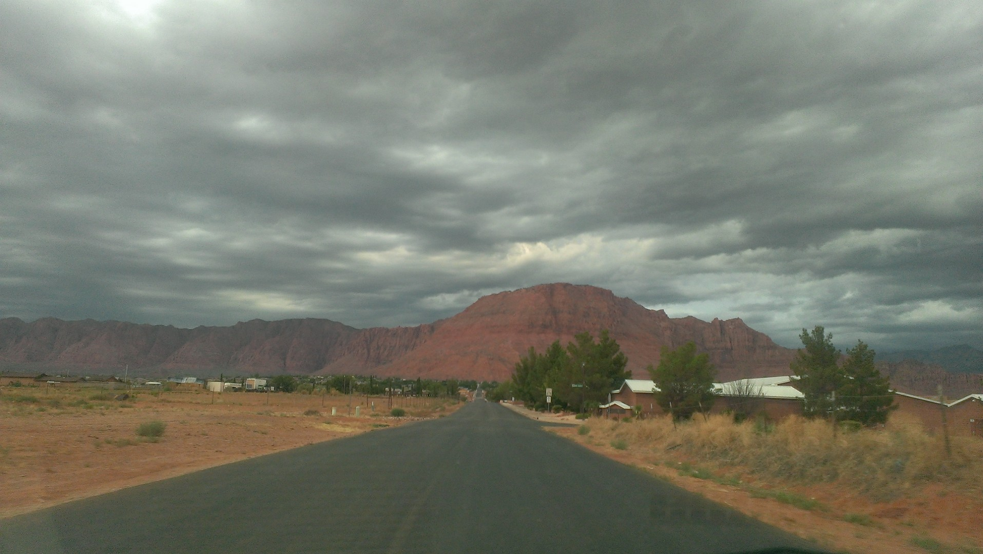 Clouds over Red Mountain, Utah, July 26, 2013 | Photo by Maris McFadden, St. George News