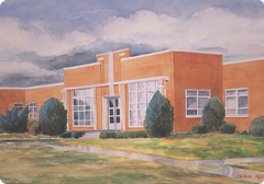 Pioneer Memorial Hospital, St. George, Utah, 1952-1975 | Photo courtesy of Dixie Regional Medical Center