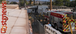 Remains of fire at 35 North 730, St. George, Utah, July 17, 2013   Photo by Kevin Mauer, St. George News
