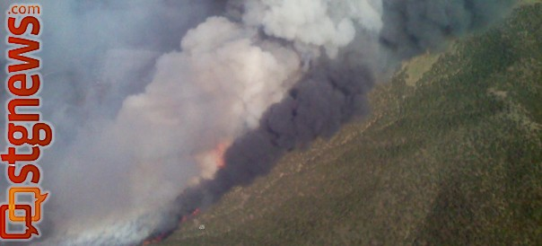 wildfire near minersville over 4 500 acres st george news. Black Bedroom Furniture Sets. Home Design Ideas