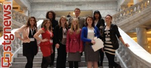 FEATURE - Cedar City Youth Council at the Utah State Capitol, Salt Lake City, Utah, 2012 | Photo courtesy of Shannon Avance