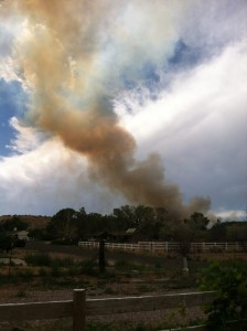 The Cinder Pit Fire, Brookside, Utah, July 25, 2013 | Photo by Karissa Carsten for St. George News
