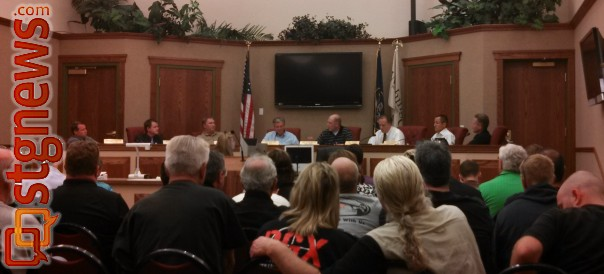 The Washington City Council discusses what to do with Dixie GunWorx's appeal, Washington, Utah, July 23, 2013 | Photo by Mori Kessler, St. George News