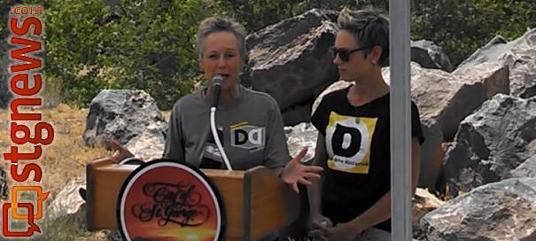 Leslee Hensen (left) and her daughter Haley Warner (right), St. George, Utah, July 25, 2013 | Photo by Mori Kessler, St. George News
