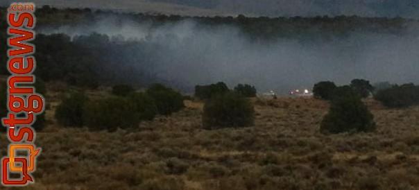 Fire Near Dammeron Valley