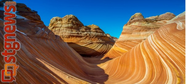 The Wave, Kane County, Utah, Jan. 2013 | Photo by Dave Amodt, St. George News