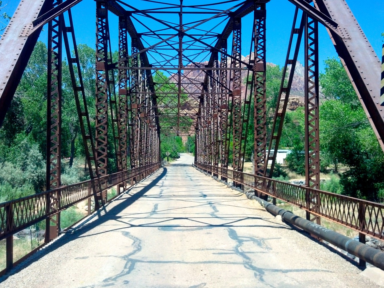 Grafton Bridge, Rockville, Utah, June 23, 2013   Photo by Joyce Kuzmanic, St. George News