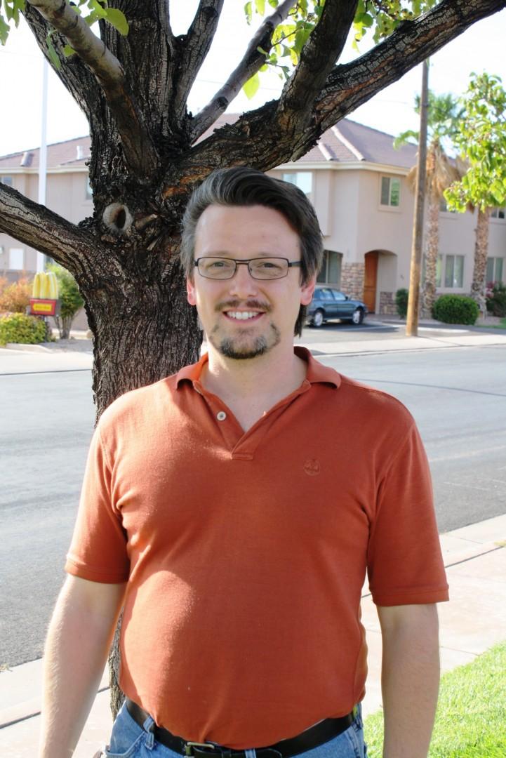 Hurricane Mayoral Candidate Jerry Dallape, Hurricane, Utah, August 2013 | Photo courtesy of Jerry Dallape