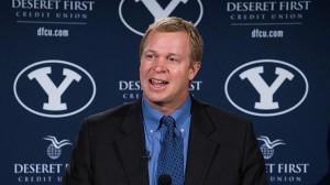 Bronco Mendenhall is in his ninth season | Photo courtesy BYU Athletics