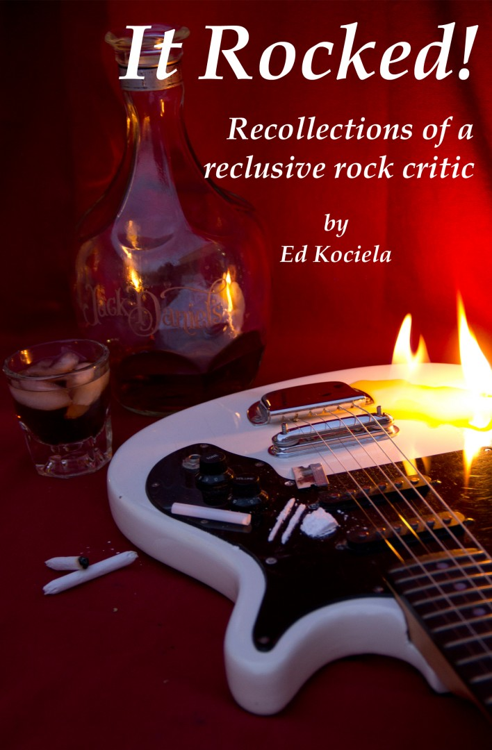 """Book cover, """"It Rocked!"""" released August 2013 