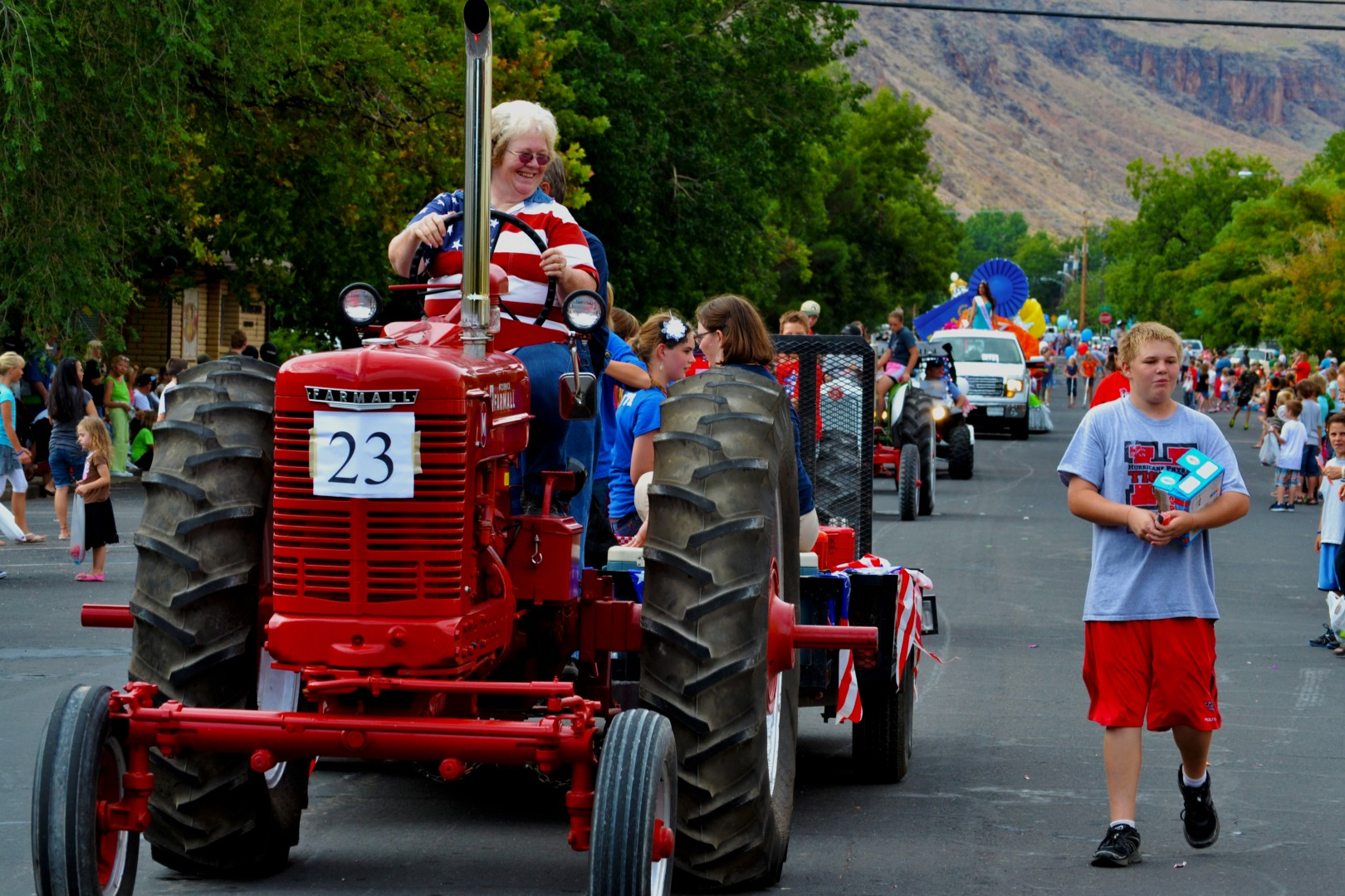 Peach Days Parade, Peach Days festival, Hurricane, Utah, Aug. 30-31, 2013 | Photo by Jeremy Crawford, St. George News